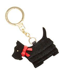 Kate Spade New York Lu Lu Dog Keychain