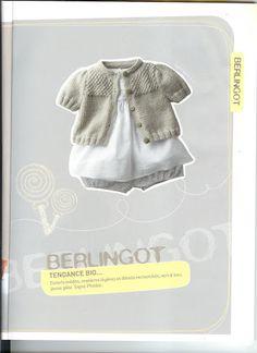 Album sous forme d& Knitting Books, Crochet Books, Knitting For Kids, Baby Knitting Patterns, Baby Patterns, Hand Knitting, Knit Crochet, Sewing Patterns, Knitting Magazine