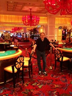 Photo: Doing advance work for Influence: Boot Camp 2014 in Las Vegas with Inner Circle member Dan Young. Dan cleared the area so we could get this shot at Wynn Resort.