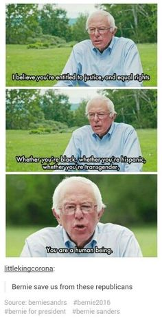 Bernie please