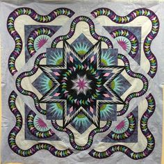 Glacier Star, Quiltworx.com, Made by Lyn M