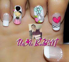 La imagen puede contener: una persona Nail Decorations, Pedicure, Nailart, Nail Designs, Persona, Instagram Posts, Elegant Nails, Nail Arts, Art Nails