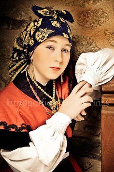 Old costume from Santo Estevo de Árbol, Vilalba (Lugo). Javier G Almunia photopraphy