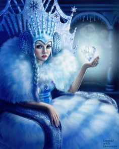 The Ice Queen by CrystalWallLancaster on deviantART