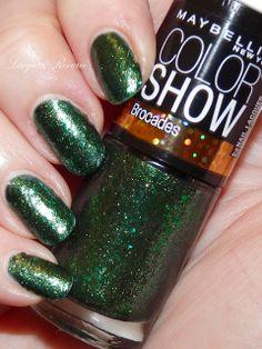 Maybelline Color Show Brocades Emerald Elegance