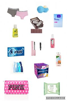 School survival kit for girls back to school emergency kit, back to sch Middle School Supplies, Middle School Hacks, School Kit, Diy School Supplies, School Tomorrow, School Goals, High School, School Ideas, Back To School Emergency Kit