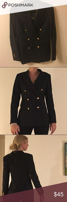 "Brooks Brothers Wool Blazer- Classic! This classic blazer is certain to be a staple for decades to come! Pockets at hips and left breast, ""Golden Fleece"" buttons, lined. Excellent condition! Brooks Brothers Jackets & Coats Blazers"