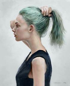 Paintable.cc   50 Stunning Digital Painting Portraits: Isabella Morawetz