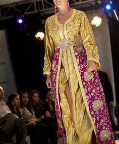 Caftan of Sari Yellow
