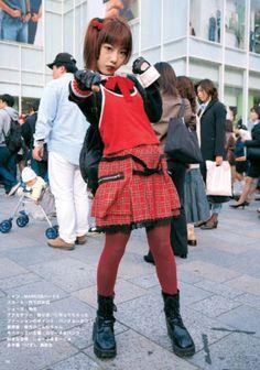 FuckYeahFRUiTS Harajuku Girls, Harajuku Fashion, Japan Fashion, Asian Street Style, Japanese Street Fashion, Fruits Magazine, Street Style Magazine, Japanese Outfits, Cool Outfits