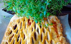 Sausage Plait with A Twist (Sundried tomatoes and thyme)