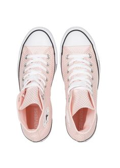 Chuck Taylor All Star montantes en toile  Rose by CONVERSE