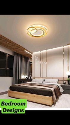 Modern Luxury Bedroom, Luxury Bedroom Design, Room Design Bedroom, Bedroom Furniture Design, Home Room Design, Luxurious Bedrooms, Bedroom Designs, Indian Bedroom Design, Ceiling Design Living Room