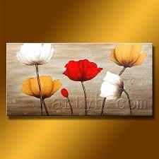 cuadros en oleos flores - Buscar con Google
