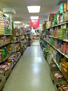 I love going to this place for the Asian candy alone. Never mind the extensive assortment of whatever else you need for Asian cooking.