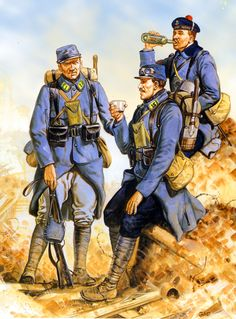 15e Régiment d'Infanterie, France, 1915