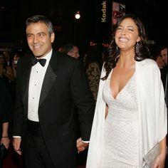 Pin for Later: George Clooney est fiancé ! Redécouvrez ces nombreuses ex !  George Clooney est sortie avec le mannequin anglais Lisa Snowdon pendant cinq ans en mode on and off entre 2000 et 2005.