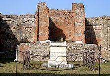 Templo de Vespasiano.