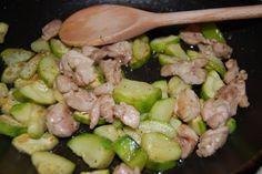 Kuracie mäso s cuketou na provensálsky spôsob