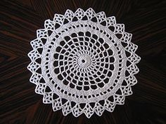 Ravelry: Spider Web Doily #LC1606 pattern by Coats Design Team