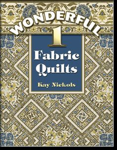 cover of Wonderful 1-Fabric Curves Quilt book