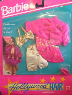 Barbie - Hollywood Hair Fashions - Clothes Fit For a Star! (1992)