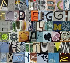 Everyday Alphabet by tres.jolie, via Flickr