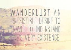 Consider me Wanderlusted.