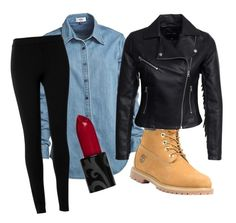 """""""Automn6"""" by lenaleblanc on Polyvore featuring mode, Vale, Timberland, Max Studio et New Look"""