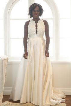 Exclusive: All About Viola Davis's Wedding Vow Renewal Look - The Gown  - from InStyle.com