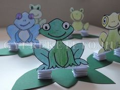 pap�r b�k�k Animal Crafts, Yoshi, Smurfs, Art For Kids, Fictional Characters, Albums, Kindergarten, Archive, Craft Ideas