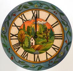Sticks Wall Clock 3475 In Stock by Sticks | Sticks Furniture, Home Decorative Accents