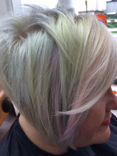 My client em with my own interpretation of opalescent hues xxx created by Alex @ do... Salon