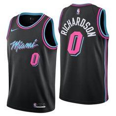 Miami Heat Nike City Edition Swingman Jersey - Josh Richardson - Youth  9c826bc8e