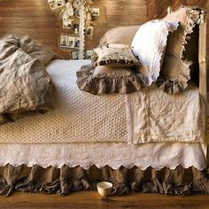 I love this bedding!   Maybe different colors....but love the style!