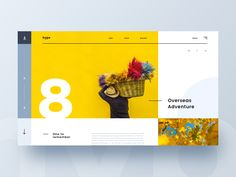Hype Concept designed by Kyle McDowell 🤘🏼. Connect with them on Dribbble; Website Design Layout, Web Layout, App Ui Design, Page Design, Design Websites, Portfolio Webdesign, Minimal Web Design, Collateral Design, Ui Web