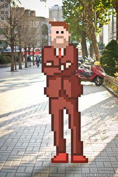 Really Shit! - it8bit: On the Street Street Fashion of Pixel...