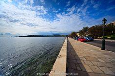 Bild: The Beaches In Corfu - Garitsa Bay Corfu, Ber, Beaches, Sidewalk, Sands, Side Walkway, Walkway, The Beach, Walkways