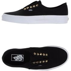 Vans Low-tops & Trainers ($70) ❤ liked on Polyvore featuring shoes, sneakers, vans, zapatillas, black, vans shoes, elastic shoes, kohl shoes, round cap and vans sneakers