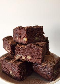 Healthy Sweet Moments |   Super smeuïge suikervrije brownies, glutenvrij en lactosevrij.