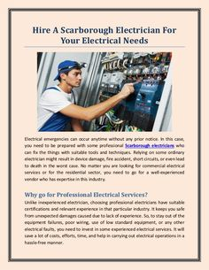 Before you hire the vendor, it is important to ensure that the vendor has good years of experience in residential or commercial electrical services.