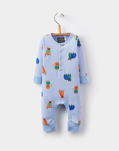 Loving this Blue Critters Webley Playsuit - Infant on Baby Clothes Uk, Baby Due, Baby Baby, Joules Uk, Blue Lion, New Print, Beautiful Boys, Playsuit, Baby Gifts