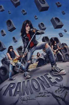 Ramones by adventurevisual.deviantart.com on @deviantART