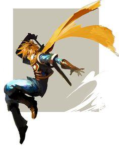 Graffiti - Isacc of Golden Sun by vvv Character Art, Character Design, Golden Sun, Sun Art, Pop Culture Art, Video Game Art, Fantasy Characters, Digital Illustration, Amazing Art