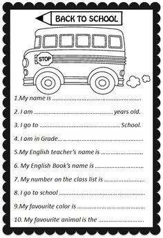 Enjoy Teaching English: BACK TO SCHOOL ACTIVITY (speaking cards ...