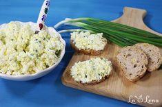 Pasta de oua cu branza si unt Feta, Potato Salad, Mashed Potatoes, Food And Drink, Cheese, Ethnic Recipes, Orice, Salads, Whipped Potatoes