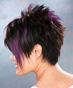 short razor haircut back view | Alternative Short Straight Hairstyle - - 8543 | TheHairStyler.com