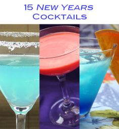 15 Delicious, Easy New Year's Cocktails – Mix That Drink  How do you plan on bringing in the new year? Whether you'll be at a party, a bar or in a more low-key setting, we have 15 cocktail suggestions to make it special. What makes a cocktail great for New Years is hard to define, and subjective. Many New Years cocktails feature champagne, the traditional drink to the new year, but we've ventured beyond that limit for some exciting alternatives. We also... #champagne #holiday ...