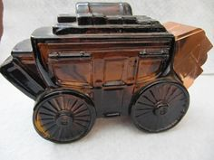 Vintage Avon Bottle Stage Coach Wild Country (like the ones my Grandmother Fern collected)