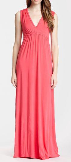 Go Couture V-Neck Dress
